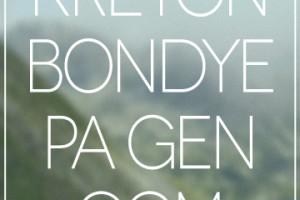 Kreyon Bondye pa gen gom, Haitian Proverbs, Heart of God Haiti