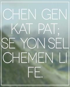 Haitian Proverb January 19th, Heart of God Haiti