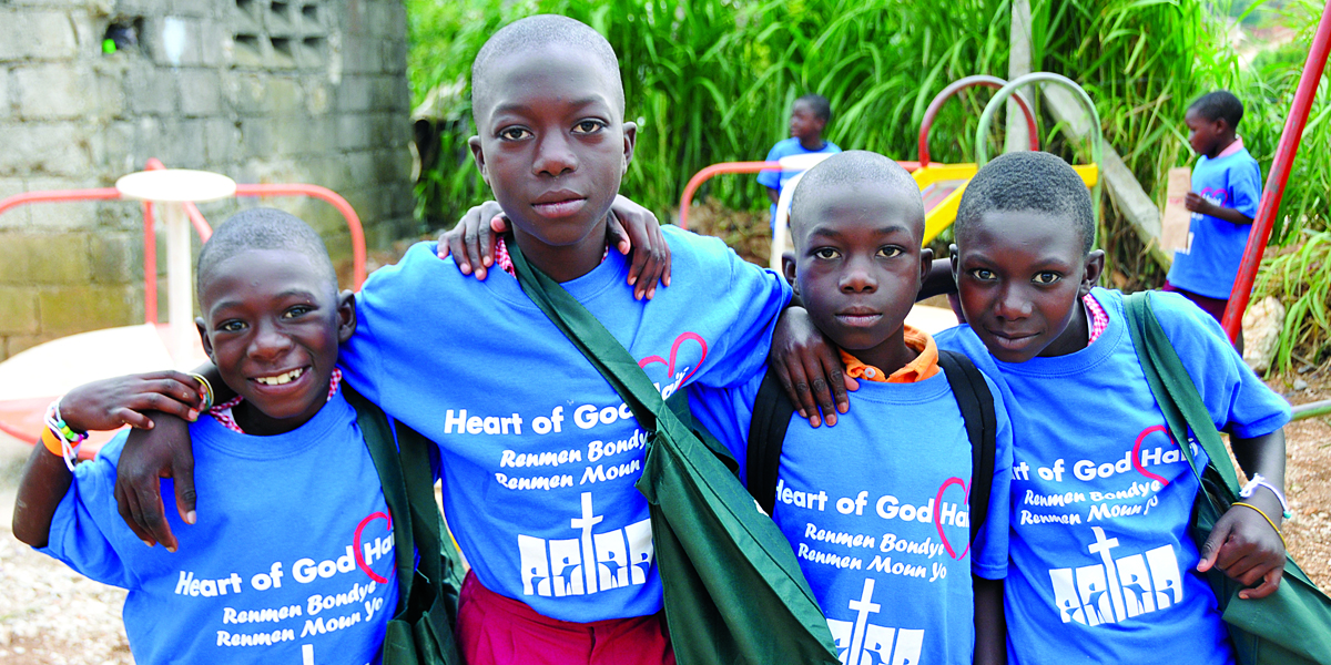 Heart of God Haiti Header Banner